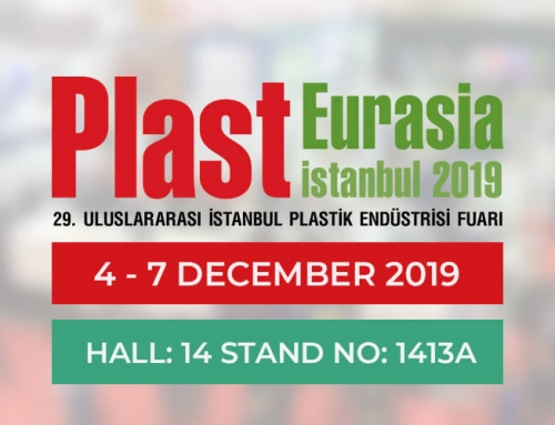 We are in Plast Eurasia 2019 Expo