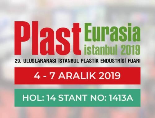 Plast Eurasia 2019 Fuarındayız