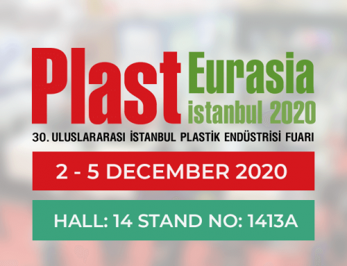We are in Plast Eurasia 2020 Expo