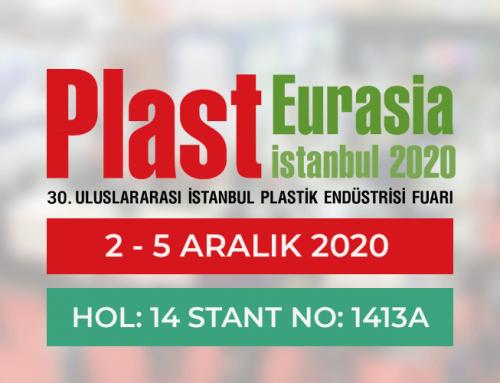 Plast Eurasia 2020 Fuarındayız