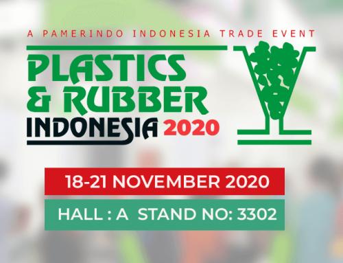 We are in Plastics & Rubber Indonesia  2020 Expo