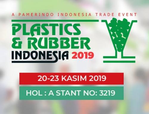 Plastics & Rubber Endonezya 2019 Fuarındayız